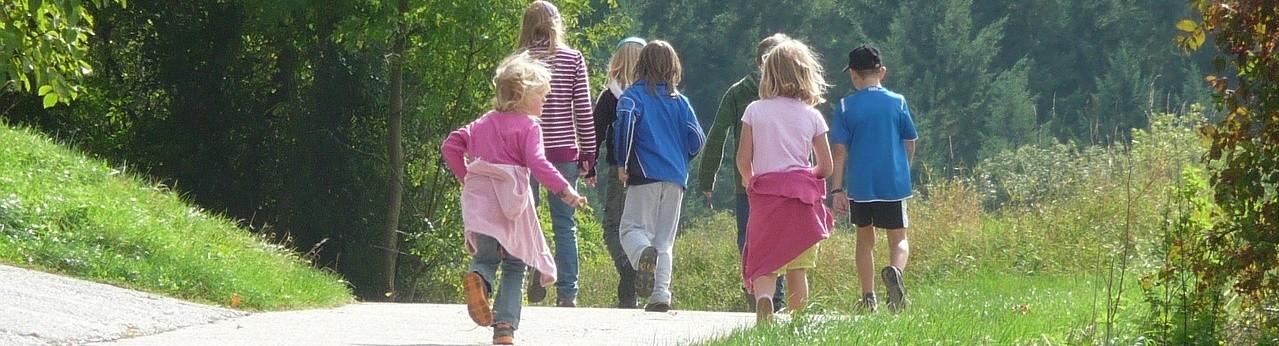 výlet s dětmi úkoly a poklad